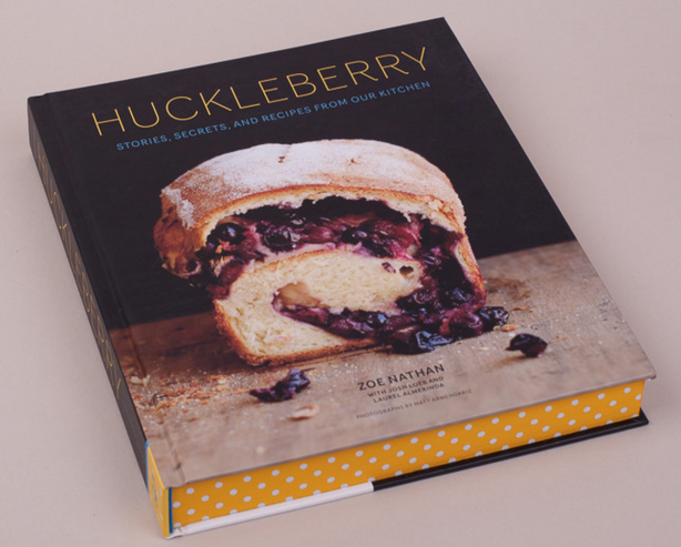 Huckleberry cookbook.