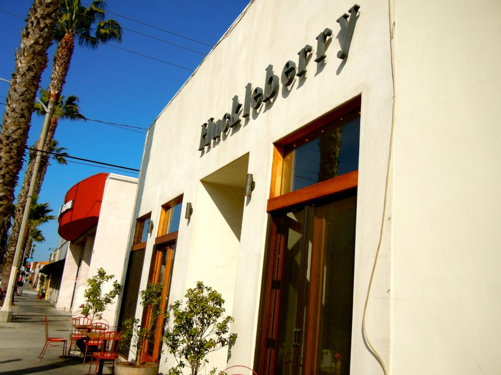 Huckleberry Cafe in Santa Monica, California