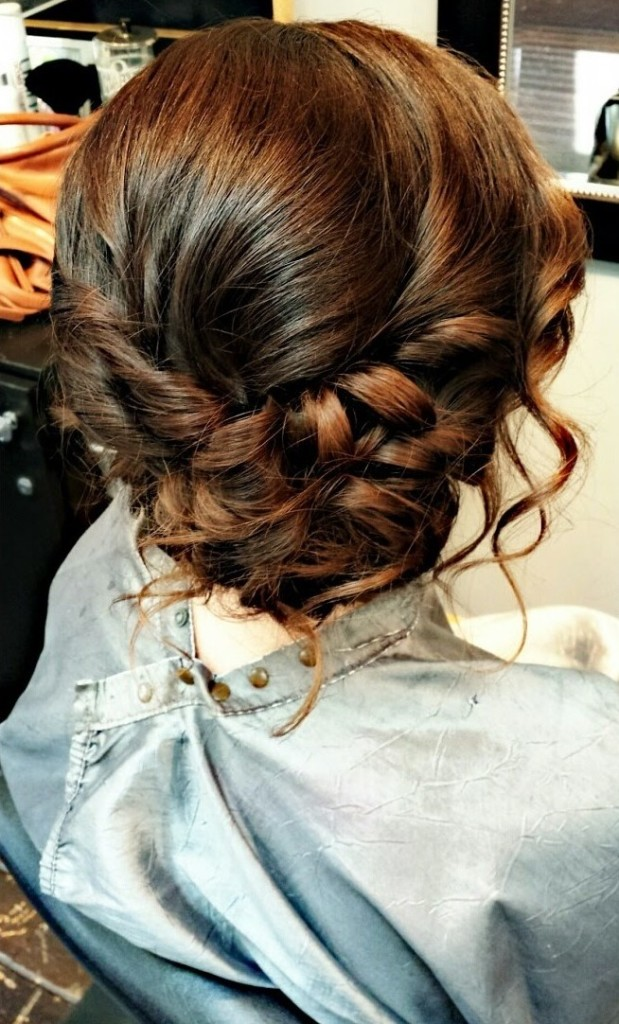 Hair styles for special events.