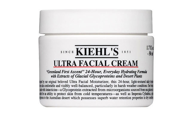 Kiehl's ultra facial cream.