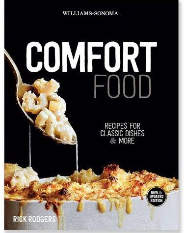 """Comfort Food"" cookbook."
