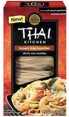 Rice noodles.