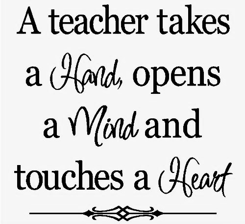 A Tribute To Teachers!