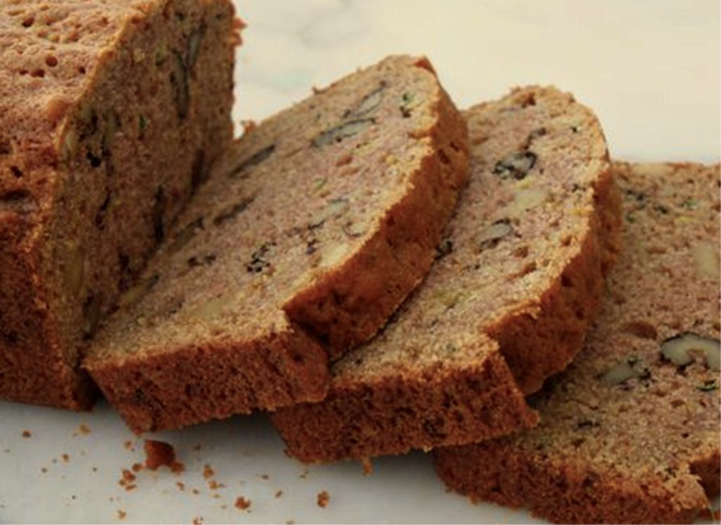 Bear Bottom Bliss Zucchini Bread.