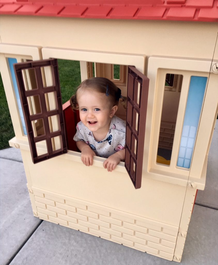 Outdoor playhouse.