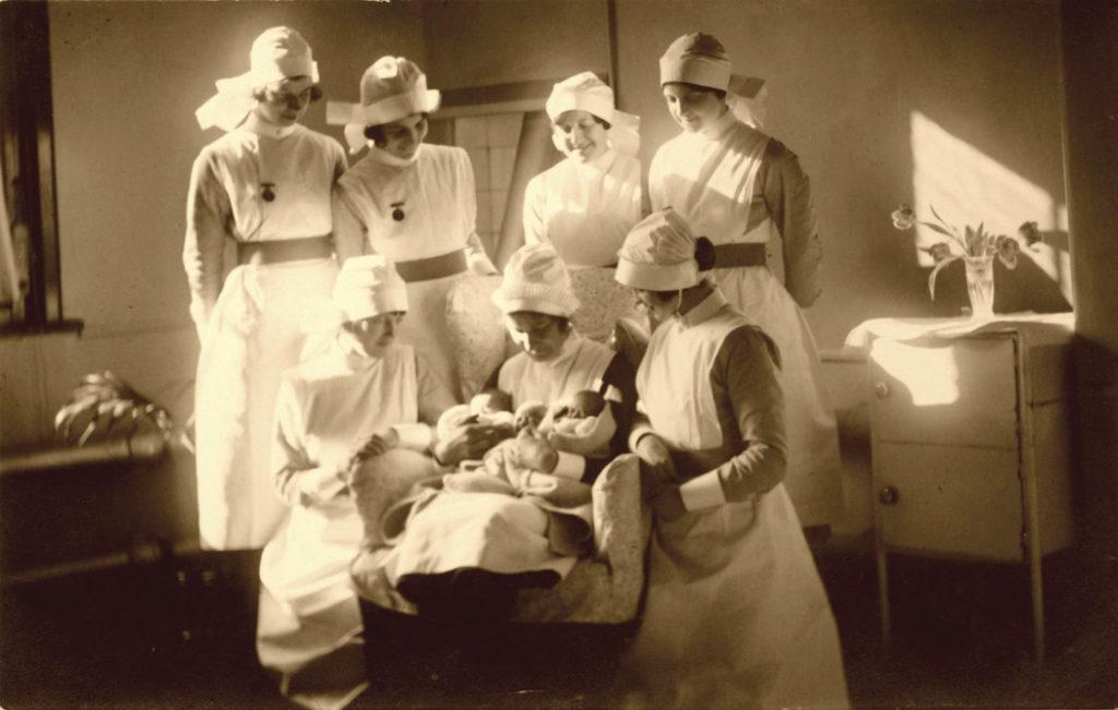 Vintage nurse picture.