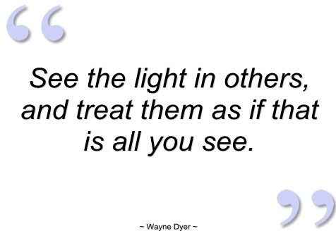 Wayne Dyer quote.
